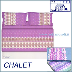 CHALET FLANELLA lenzuola una piazza Caleffi
