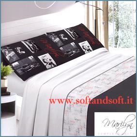 MARILYN 2 Completo lenzuola per letto Matrimoniale