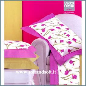 ORCHIDEA 8 Completo lenzuola per letto matrimoniale - Enrico Cov