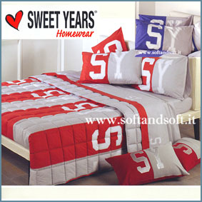 SWEET YEARS Duetto Lenzuola letto Singolo