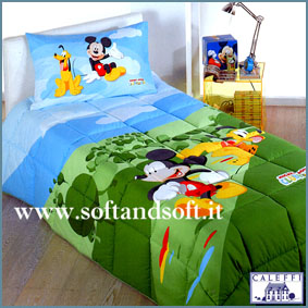 MICKEY MOUSE Club House- FEDERA CUSCINO - Caleffi