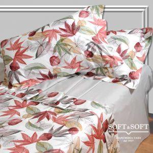 ACERO lenzuola letto matrimoniale con balza in Raso - grigio
