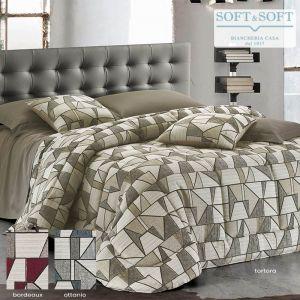 ALISEA jacquard fabric quilt DOUBLE BED size 270x270 GFFERRARI