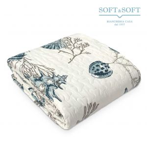 ARIEL Microfibre Quilted Bedcover for SINGLE Bed