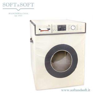 cesto porta biancheria a forma di lavatrice