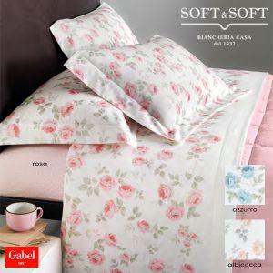 lenzuola in flanella stampate per letto matrimoniale Gabel, flanella di qualità