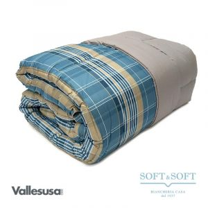 FOSTER quilt for single bed 170x260 microfibre fabric GABEL
