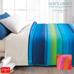 LEGGENDA quilt for double bed 260x260 pure cotton GABEL