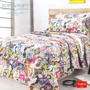 MANGA Quilted Bedcover SINGLE Bed Size by GABEL