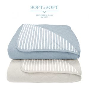 SOGNO Quilted Spring Bedcover SINGLE BED Size in Microfibre by GFFERRARI