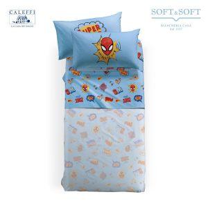 lenzuola spider-man marvel