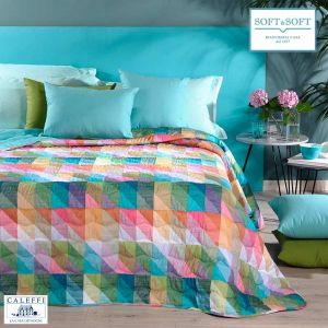 SYDNEY Quilted Bedcover for SINGLE bed 170x270 by CALEFFI