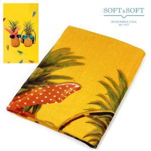 TREND FRUITS terry beach towel 80x160 ananas