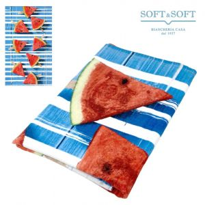 TREND FRUITS terry beach towel 80x160 Watermelons