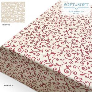 TROPEA RAMAGE Tablecloth in Resinated Fabric for 12 people cm 140x250