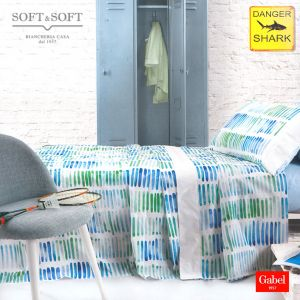 WATER COLOR Bedcover Sheet Set for THREE-QUARTER Bed by GABEL