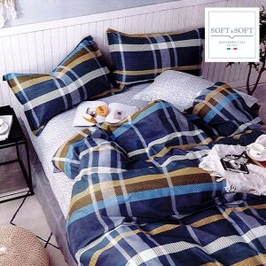 RODI ART.19 Cotton Percale Duvet Cover Set for SINGLE Bed