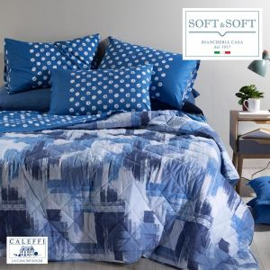 Brera quilted spring bedspread for Caleffi single bed and a half