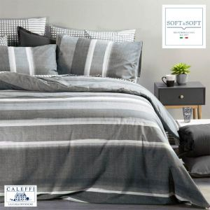 DENIM Duvet Cover Set for three-quarter beds Caleffi