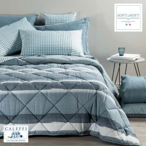 DENIM Winter Quilt for Three-quarter Bed CALEFFI
