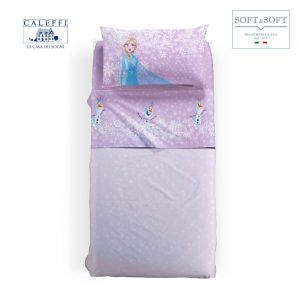 FROZEN MAGICA sheet set for SINGLE Disney by CALEFFI