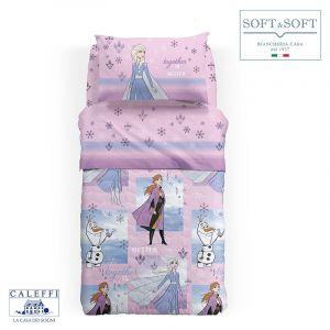 FROZEN SOGNI quilt three quarter bed 215x265 Disney by CALEFFI