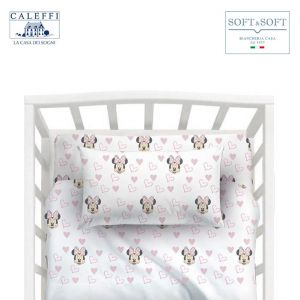 MINNIE AMICI Disney CALEFFI Bed Sheet Set