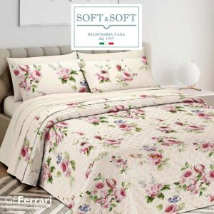 SPRING 5 quilted bedspread for DOUBLE GFFerrari