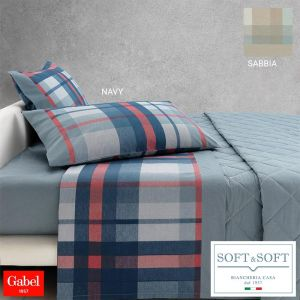 SCOTT complete sheets for THREE QUARTER bed madapolam pure cotton by GABEL