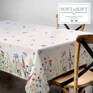 SIBILLA printed tablecloth for 12 people 140x180 digital printing