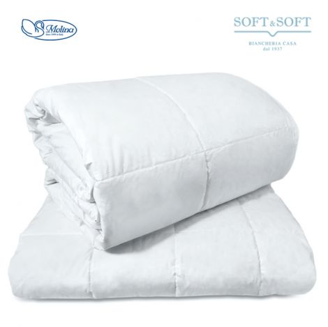 ISLANDA FOUR SEASONS Duvet THREE-QUARTER BED 100% White Down by MOLINA