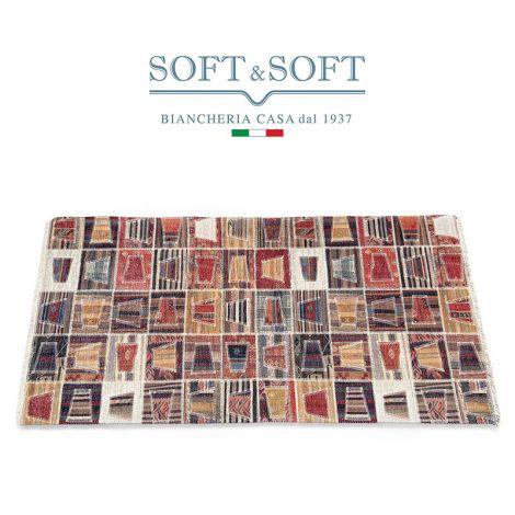 AMBIENTE tappeto in cotone riciclato con fondo antiscivolo TC01