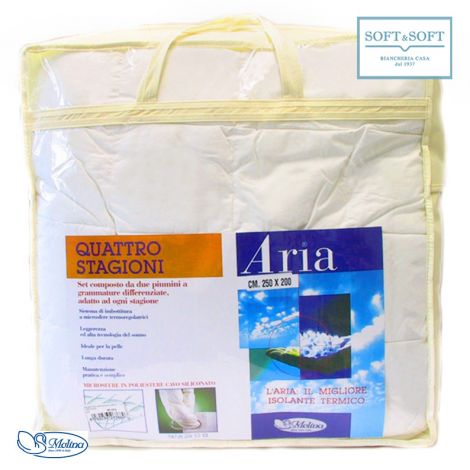 ARIA light Weight 100 gr.sm. Duvet for doublw queen bed Molina