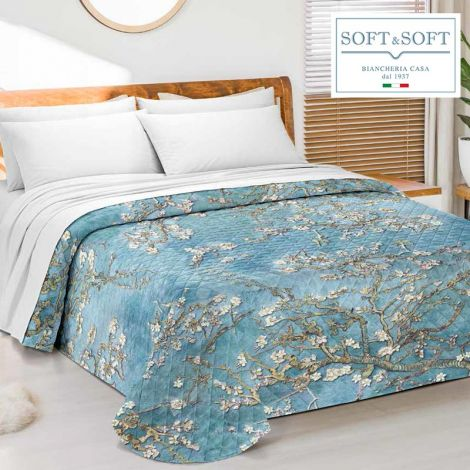ARTE 2 quilted bedspread for DOUBLE GFFerrari