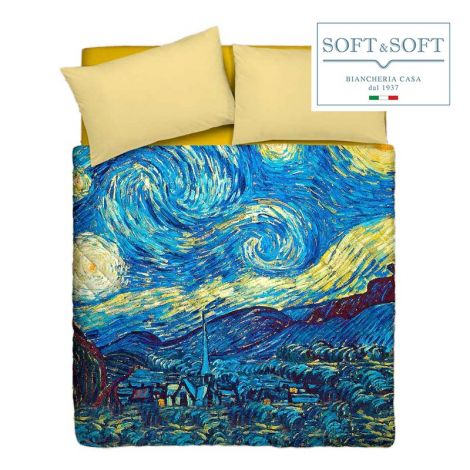 ARTE 3 quilted bedspread for DOUBLE GFFerrari