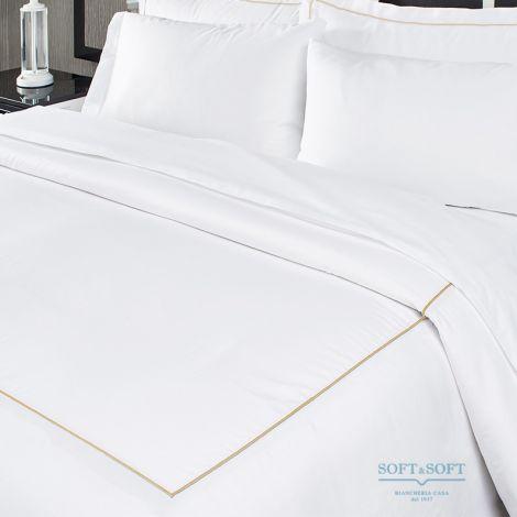 PERCALLE BACCHETTA lenzuolo da sotto con angoli percalle di cotone 165x205