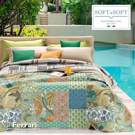 BALI quilted bedspread for DOUBLE GFFerrari