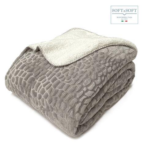 BOA blanket plaid double size 230x200