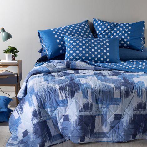 Brera copriletto primaverile trapuntato per letto da una piazza e mezza Caleffi
