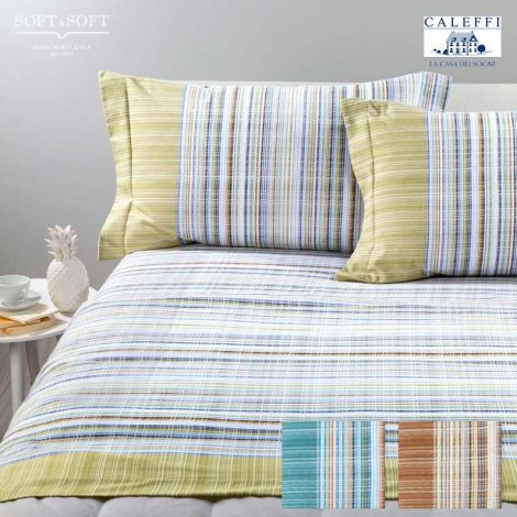 BRITISH Flanel sheet set for double bed CALEFFI