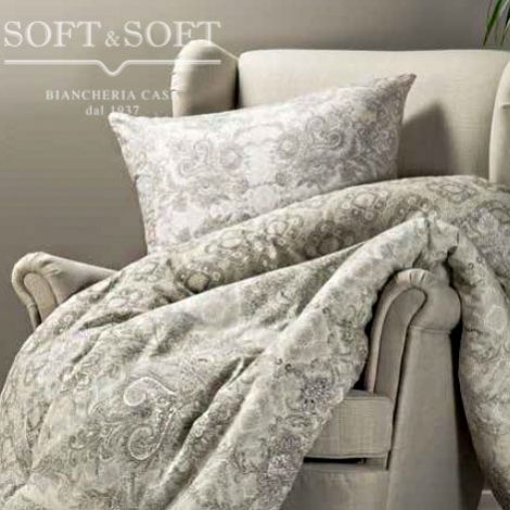 Brocade cushion cm 60 × 60 Digital Print CALEFFI-Tortora
