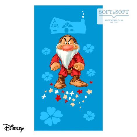 BRONTOLO Seven Dwarfs Beach Towel cm 75x150 Disney