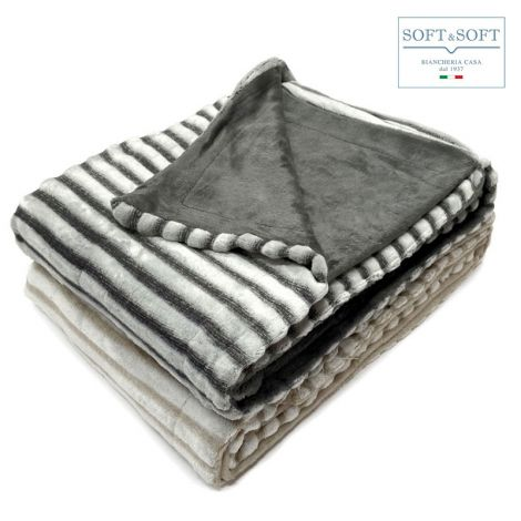BRUXELLES Very warm Fleece Blanket / Plaid