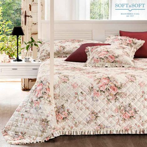 CALIFORNIA Spring Quilted Bedcover for Double beds 260x260