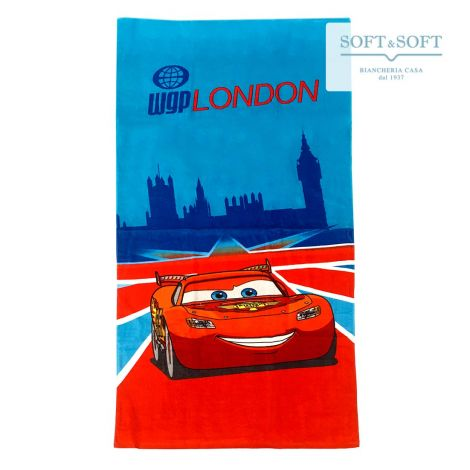 CARS LONDON Beach Towel 75x150 Disney
