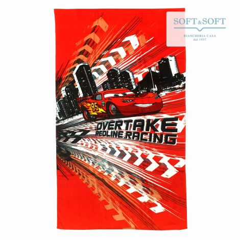 CARS RED LINE Beach Towel 75x150 Disney