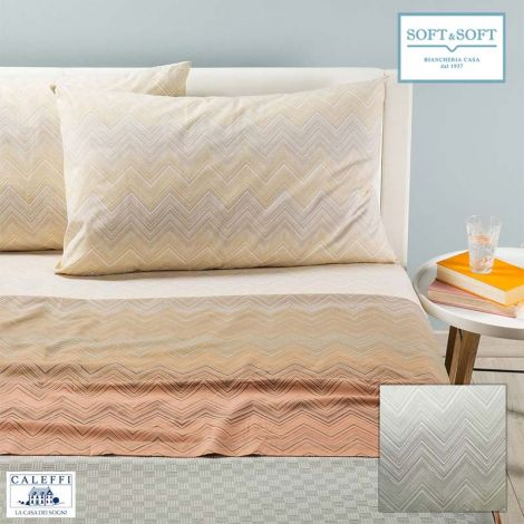 CHEVRON Sheet set for DOUBLE bed by Caleffi