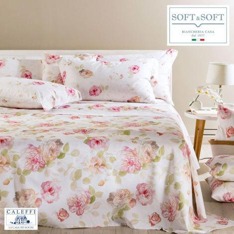 CHIARA Sheet Set for DOUBLE in Cotton CALEFFI