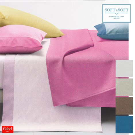 CHROMO Pure Cotton Piquette Bed Cover for Single bed by GABEL