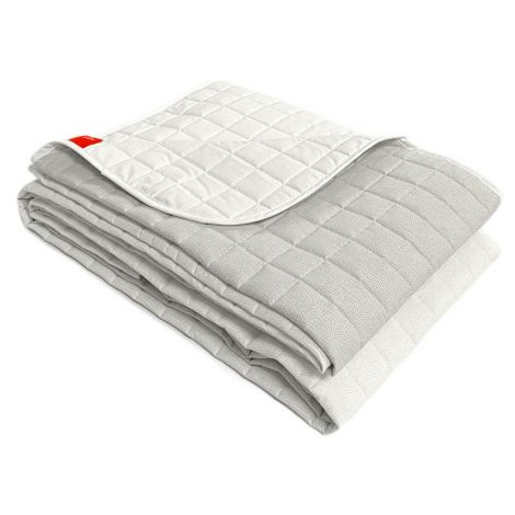 CHROMO bedcover spring summer quilted Gabel-Bianco